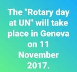 United nations, rotary, jazzar, geneva, 2017